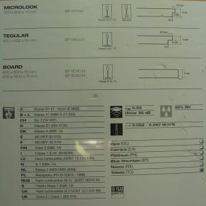 Фотография подвесной плиты Армстронг Дюна Цветная