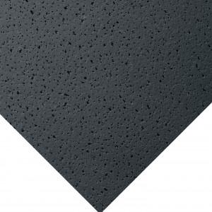 Фотография подвесной плиты Armstrong Fissured Black