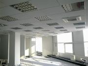 Капитал Банк пер. Доломановский 55. Потолок - Plain Microlook, система - PRELUDE 15