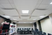 ЗАО Орбита пер. Соборный 66а. Потолок - Cellio 75x75x37, система - PRELUDE 15. Угловой молдинг