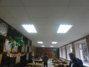 Приазовская птицефабрика. Потолок - RETAIL 1200x600, система - JAVELIN