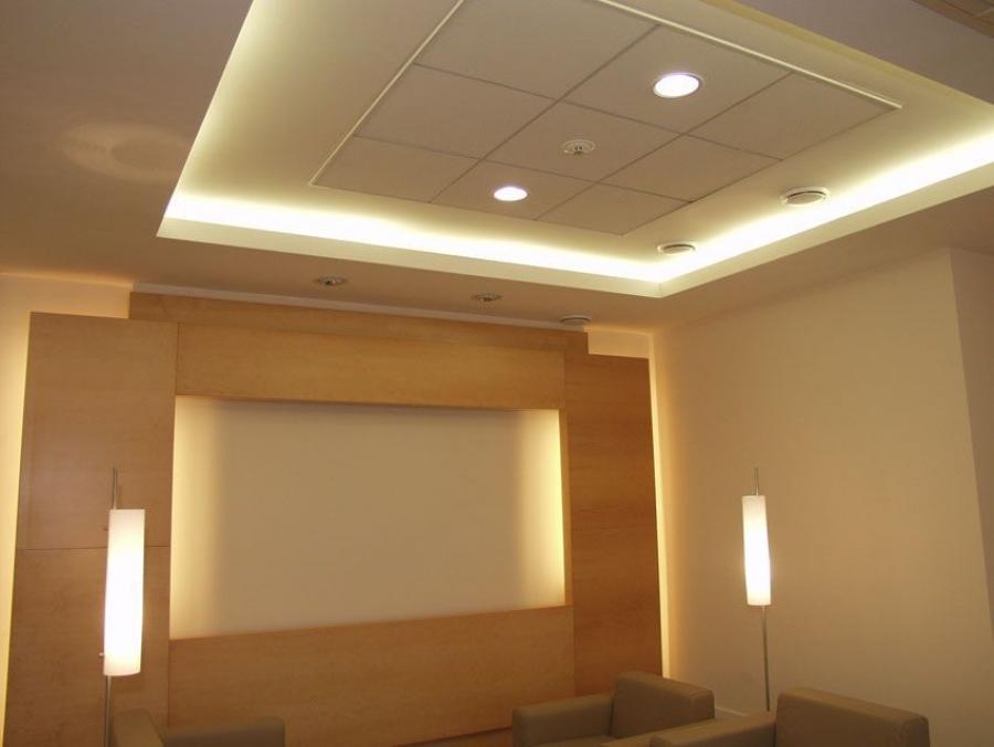 Пластиковый подвесной потолок как сделать